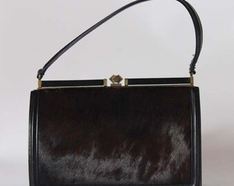 Authentic vintage 1950s handbag, Made in England
