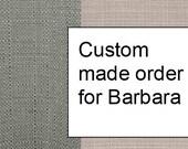 Custom Made drapes for Barbara