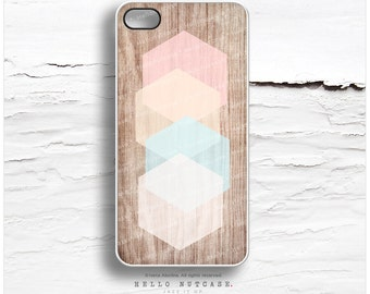 iPhone 6S Case iPhone 6S Plus Case Wood Print iPhone 5s Case Geometric iPhone 6 Case Pastel iPhone Case Mint Cream iPhone 6s Case I119