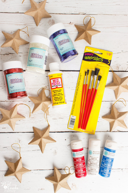 Stars Craft Kit Kids Diy Art Easy