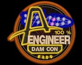 Artemis Engineering Station Insignia Iron-on Patch