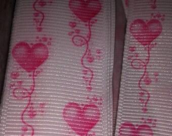 Hearts Grosgrain Ribbon