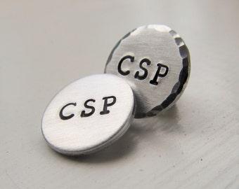 Tie Tack CSP PIN Lapel Pin In Memory Of Corey Hand Stamped Tie Tack Hand Stamped Pin Nurse Pin Memory Pin
