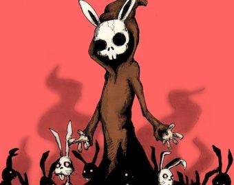 Bunny Master Fine Art Print