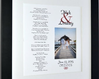 Personalized first anniversary gift, romantic gift for husband, sentimental gift, custom love poem print, anniversary gift for him