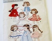 """Doll Clothes Pattern - Butterick 7972: Complete Wardrobe for Popular Dolls 8"""" in Length - Sewing Pattern, Girls Doll Clothes"""