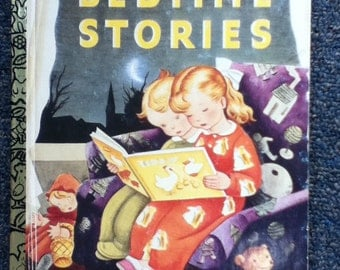 1992 Bedtime Stories 50TH Anniversay Golden book