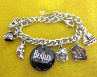 Beatles MEMORY charm bracelet