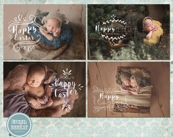 Easter Photoshop Overlays - INSTANT DOWNLOAD