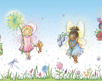 Where Do Fairies Go When It Snows? The Four Fairies Print