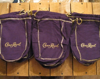 Crown Royal Bags-Empty Crown Royal Bags-Craft Supplies
