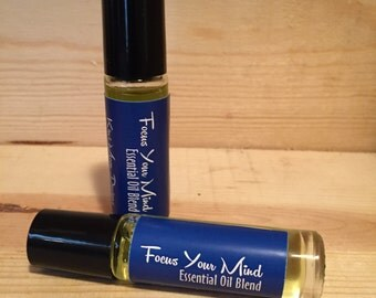 Focus and Energy - 10 ml Essential Oil Roller