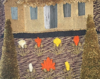 Vintage Don Freedman Wall hanging made in 1976