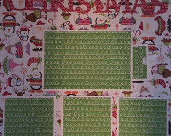 Christmas scrapbook page 12 x 12