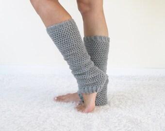 Merino Wool Ankle Warmers   Crochet Boot Cuffs   Leg Warmers Women   Knit Legwarmers   Christmas Gift for Her