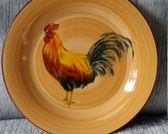 Oneida Morning Rooster Salad or Dessert Plate