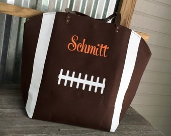 Touchdown Football Tote