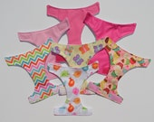 3 Reusable, Waterproof Diapers for Baby Alive, New Colors, Eco-Friendly Reusable Baby Alive Diapers, Your Choice of Colors, Kid's Toys