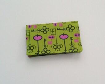 Business Card Holder, Green Card Holder, Business Card Case, Credit Card Holder, ID Holder, Gift Card Holder
