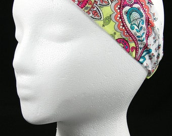 Paisley headwrap/headband (Handmade in the United States)