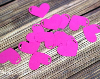 "1.5"" Heart Paper Cut Outs"