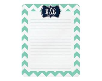 monogrammed dry erase memo boards • 8 x 10 • steel : design your own