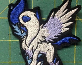 Mega Absol iron-on patch