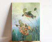 Turtle 6x8 Art Print