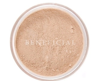 50% off Christmas in July | Mineral Makeup Foundation - 20g MEDIUM Matte Foundation Powder - Natural Vegan Minerals