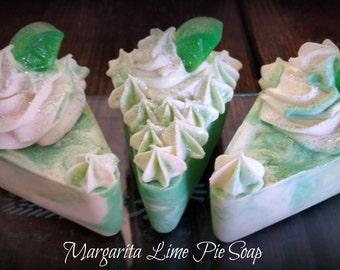 """Soap Cake """"Margarita Lime""""  Homemade Soap / Cake Soap  / Homemade Soap Cake / Cold Process Soap"""