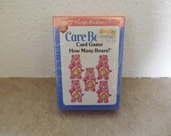 Parker Brothers Care Bear Card Game