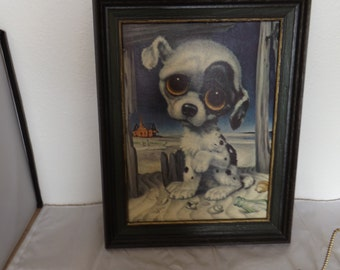 GIG Pity Puppy Sad Puppy Litho Picture