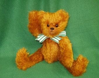 """OOAK Mohair Bear - """"Cinnamon"""""""