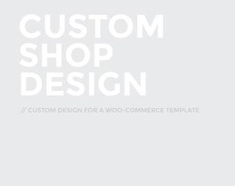 Custom Shop (e-commerce) Design