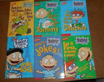 Lot of 6 Nickelodeon RUGRATS Books
