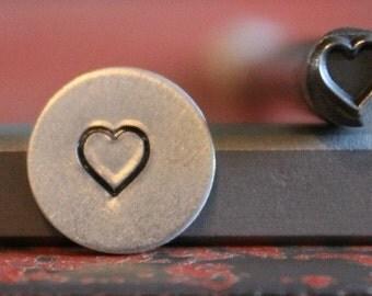 Heart Metal Design Stamp - Metal Stamp - Metal Stamping and Jewelry Tool SGC-25