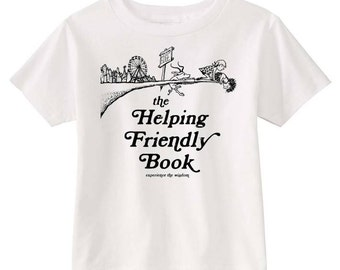 Phish Helping Friendly Book Toddler + Youth Shirt