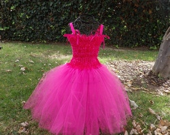 Pinkalicious pink tutu dress