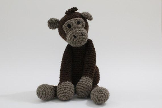 Chimpanzee - Crochet animal toy