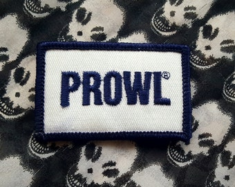 Vintage NOS PROWL Patch