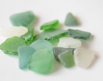 For Mosaic Craft Sea Glass Beach Glass Mosaic Glass Gems Abstract Wall Art Bathroom Mosaic Green Patio Art Beach House Decor Frosted