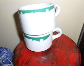 Pair of Shenango cups