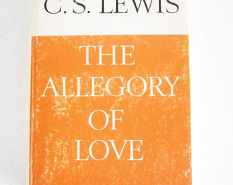 The Allegory of Love by C. S. Lewis Vintage Paperback 1966