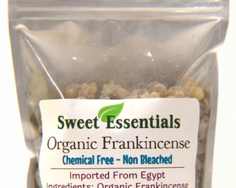 100% Pure Organic Frankincense Resin / Tears - High Quality - Various Sizes
