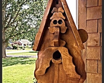 Old Man birdhouse