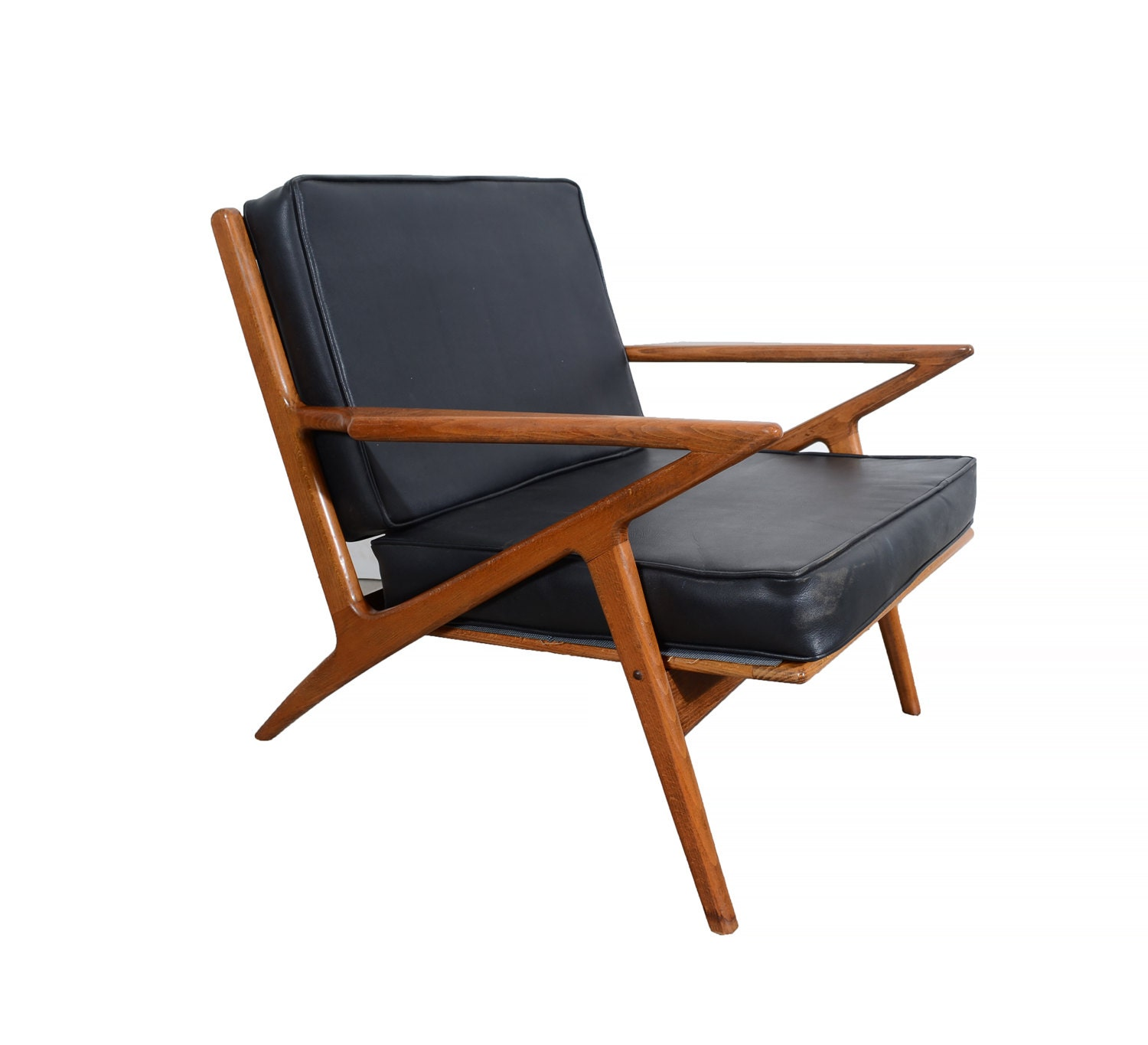 Z chair poul jensen style lounge chair selig style m belfabrik for Poul jensen z chair