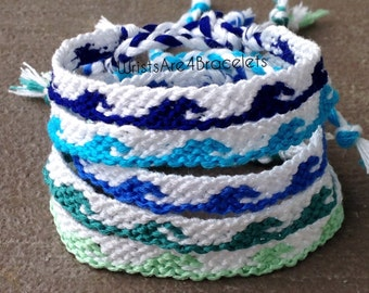 Ocean Wave Friendship Bracelets - Ocean Jewelry - Summer Jewelry - Best Seller