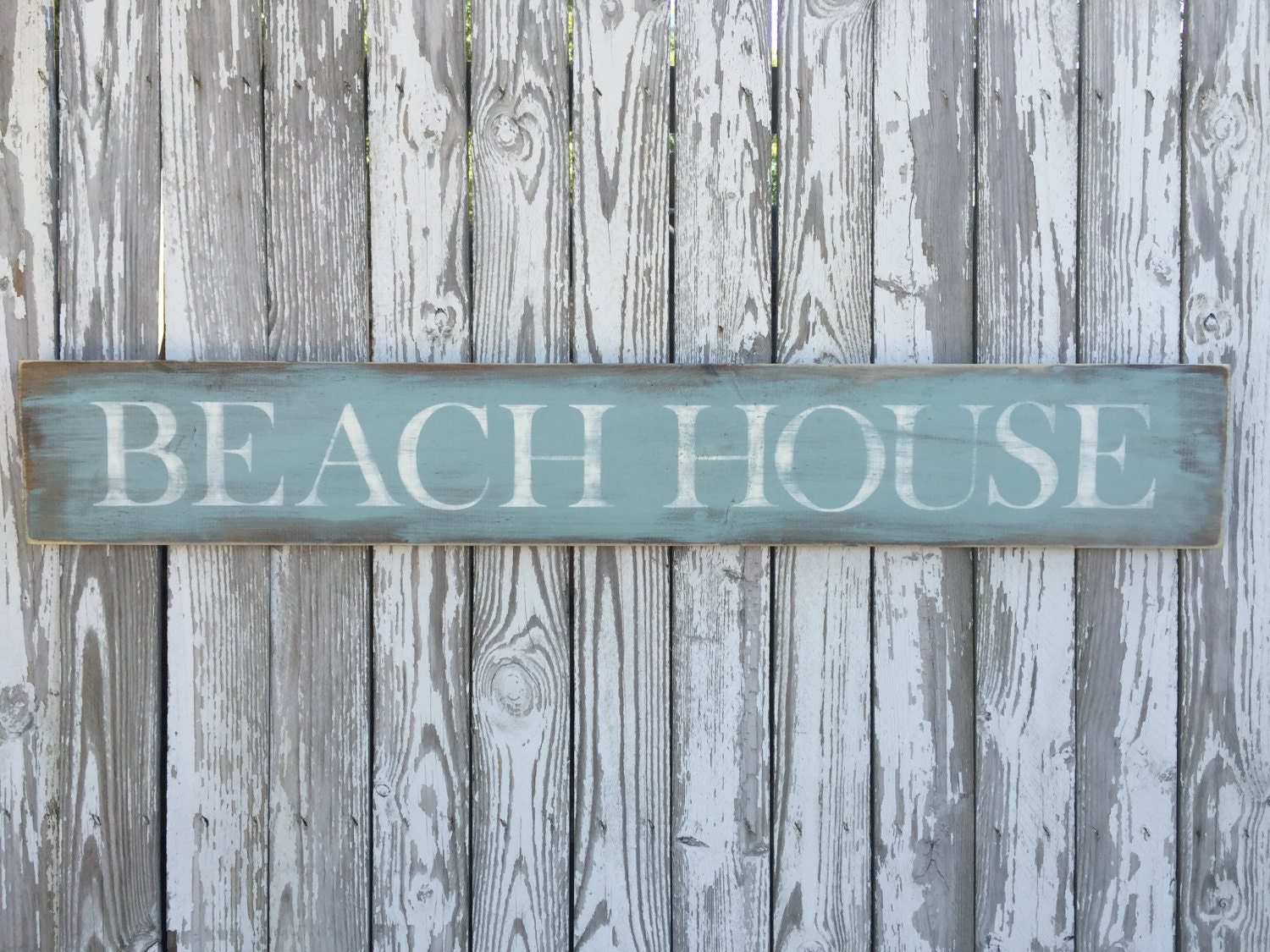 Beach House Sign 70 Color Options Wood Beach Sign Beach