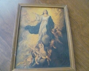 Very Old Religious Painting
