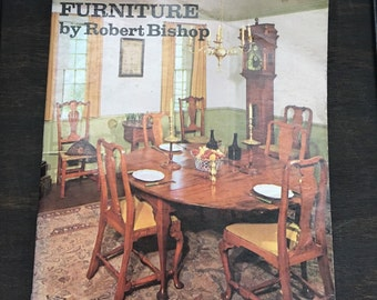 Reference book how to know american antique furniture Robert Bishop 1973 USA